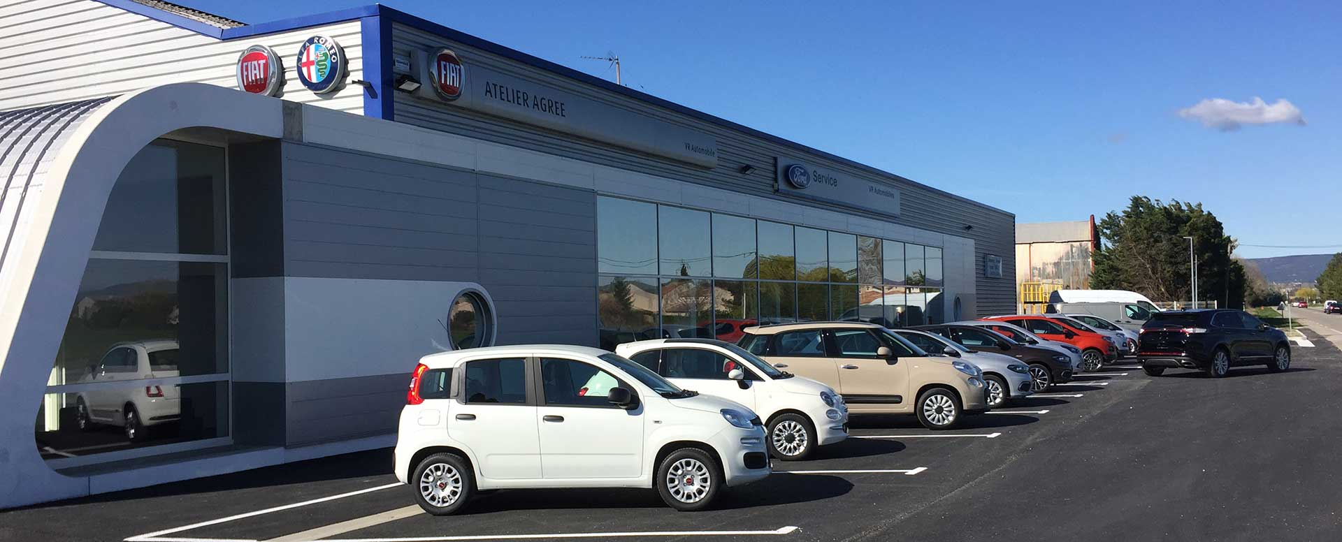 Contactez v r automobile garage ford et fiat pierrelatte for Garage ford st maur des fosses